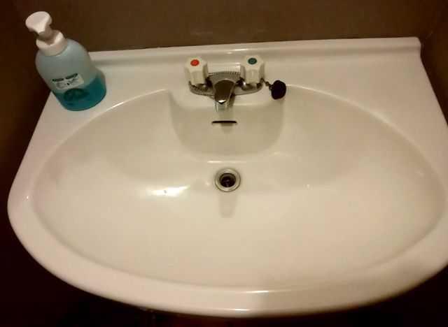 猫満のトイレの手洗い場