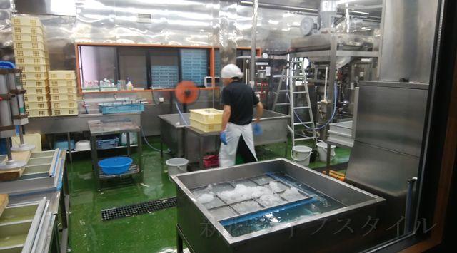 松兵衛の豆腐作りのスペースっぽい所