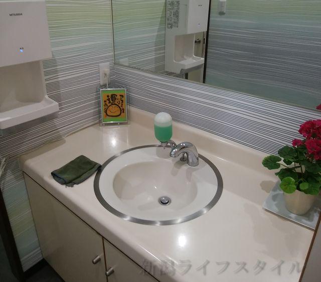 松兵衛のトイレの手洗い場