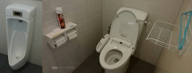 コバック女池インター店のトイレ内の様子