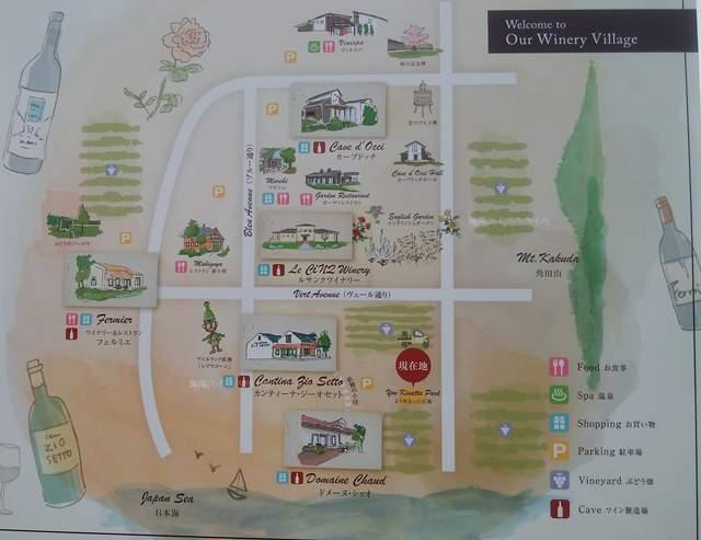 カーブドッチの地図その1
