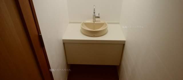 ヴィネスパ2Fトイレの手洗い場