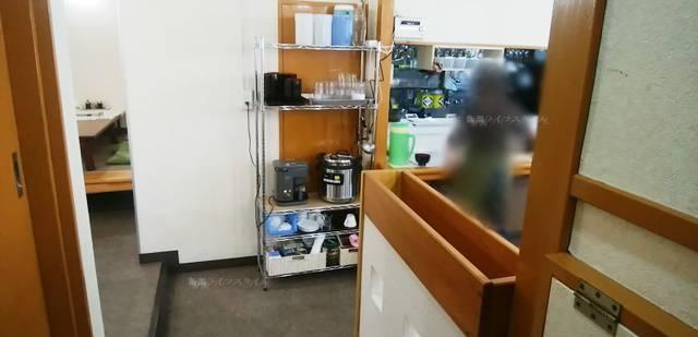 新ワープ116のトイレ出た店内風景