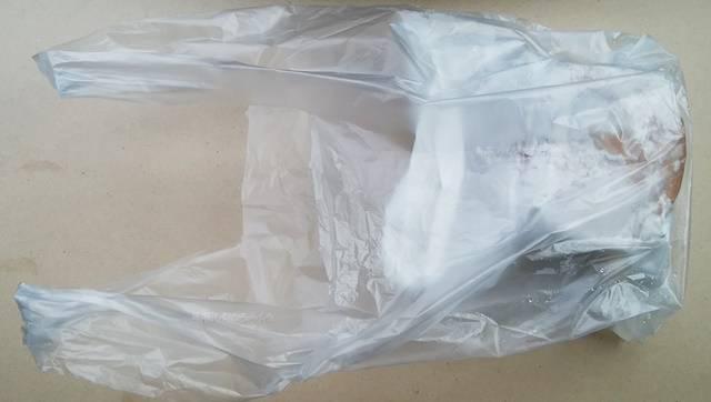 松月堂の商品が入った袋