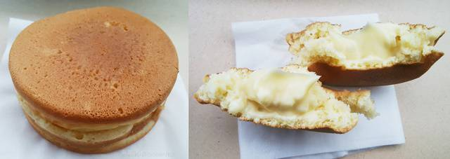 松月堂の大判焼きクリーム