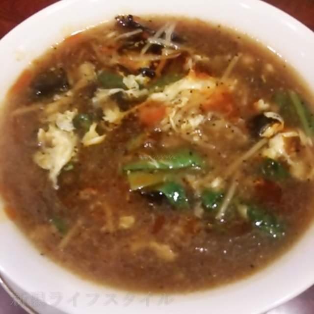 家寶の酸辣湯麺