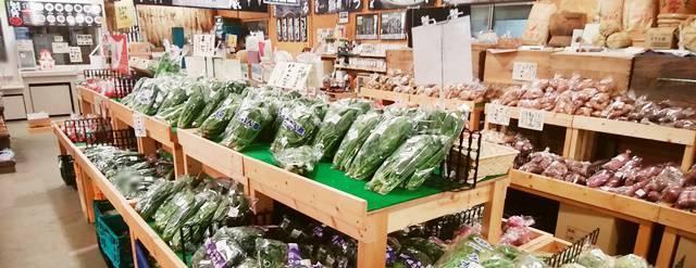 ピア万代の野菜売り場その2