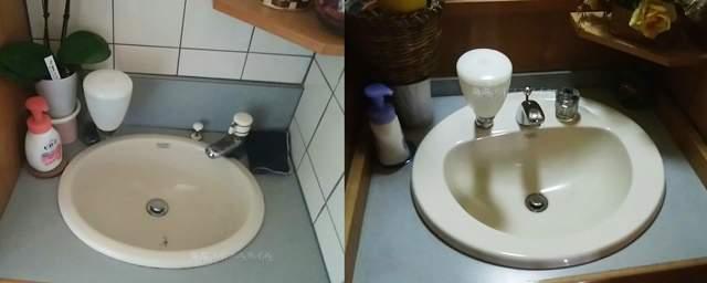 笹むらのトイレの手洗い場