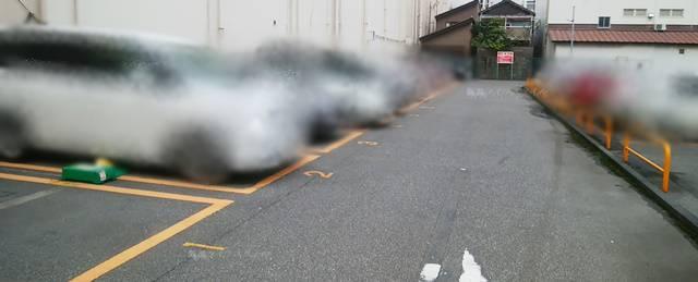 リパーク新潟上大川前通第2駐車場の駐車スペース全体像