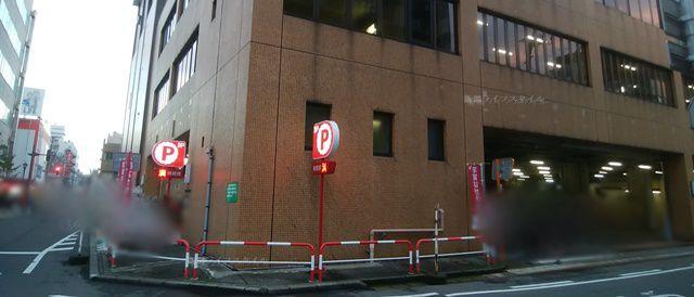 新潟中央郵便局の裏側外観