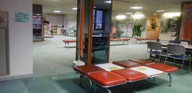 万代市民会館の自習スペースその2