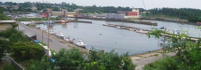 新川漁港の眺めその1