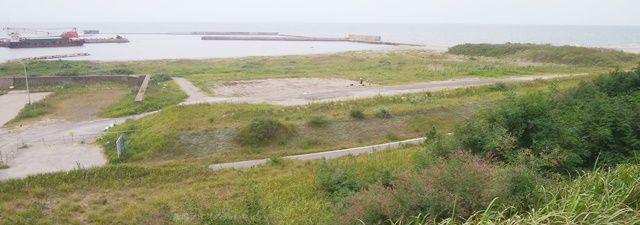 新川漁港の眺めその3