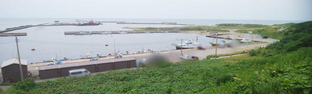 新川漁港の眺めその4