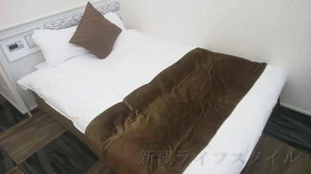ホテルディアモント新潟西のベッド