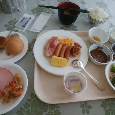 ホテルディアモント新潟西の朝食バイキング