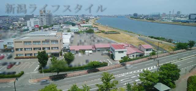 ホテルディアモント新潟西からの眺め