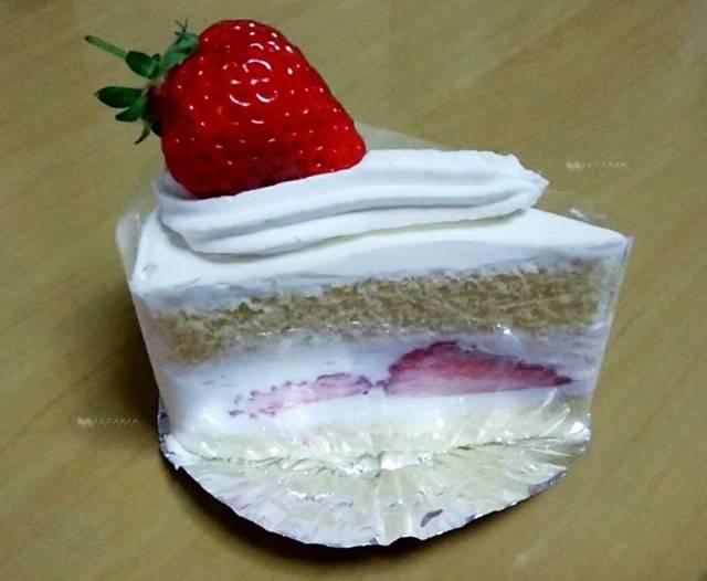 ランプリールの越後姫のショートケーキ