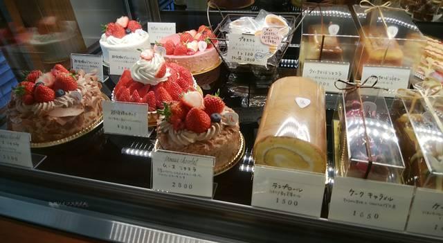 ランプリールのショーケースのケーキたちその4