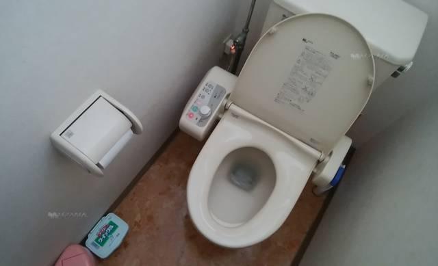 おにぎり村のトイレ