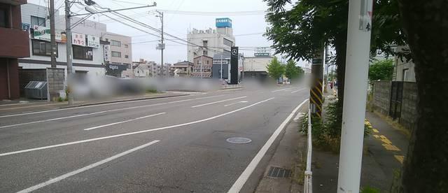フレンドパーク幸西4から昭和大橋方面を見た様子