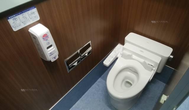 まねきねこ新大前店のトイレ大用