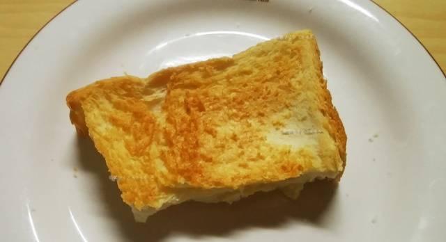 乃が美の食パンをトーストした状態