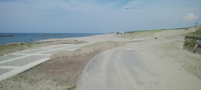 小針浜の整備された海岸その3