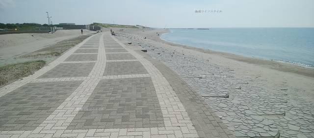 小針浜の整備された海岸その2