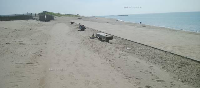 小針浜の整備された海岸その4