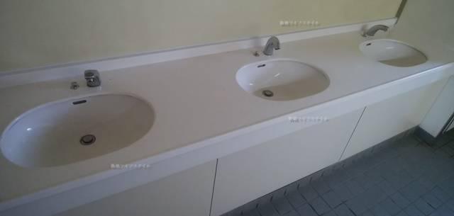 なぎさふれあいセンターの手洗い場