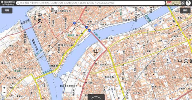 国土地理院地図その3
