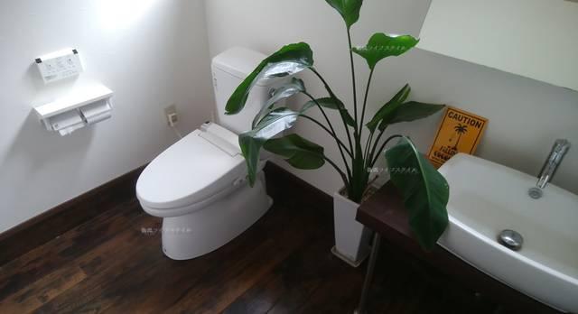 DIOのトイレ内の様子