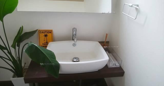 DIOのトイレの手洗い場