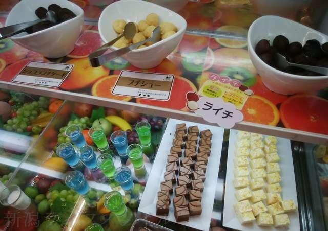 キラキラレストランのケーキ類