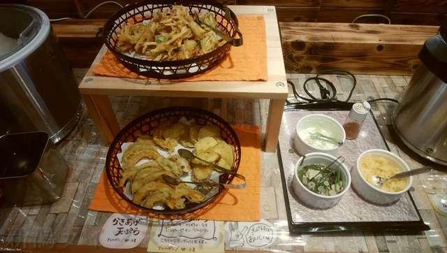 キラキラレストランのおそばと天ぷら
