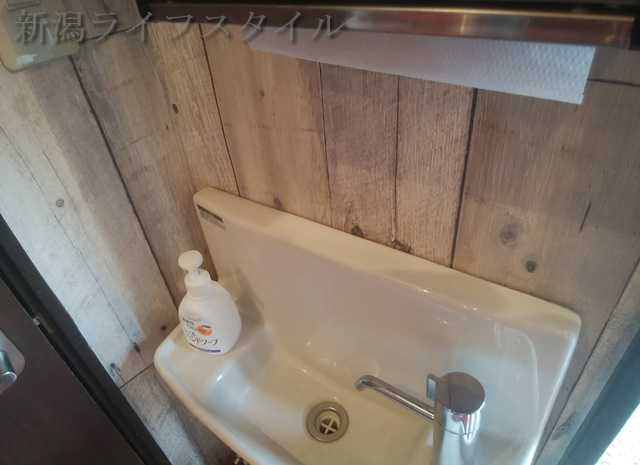 とっとコのトイレの手洗い場