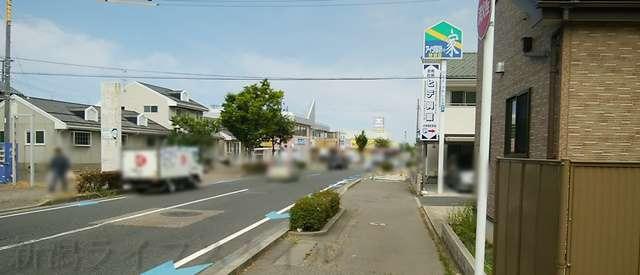 西のあんまるから新潟市ほうこうを望む