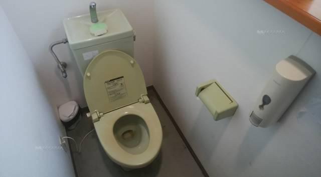 麺屋あんじのトイレの中