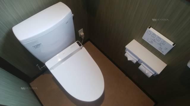 かつ一内野店の洋式トイレ