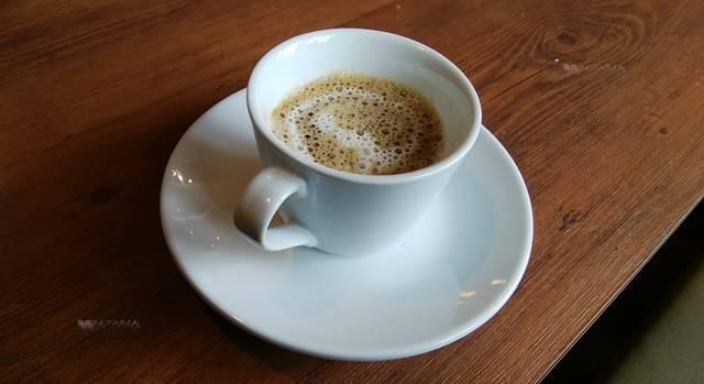 大福家のサービスドリンクのホットコーヒー
