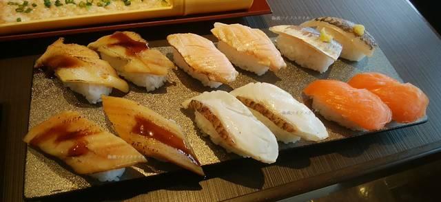 ゆず庵の寿司5種類