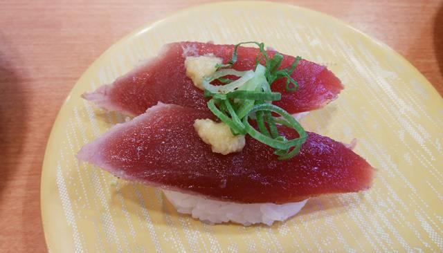 かっぱ寿司逢谷内店のかつおたたき
