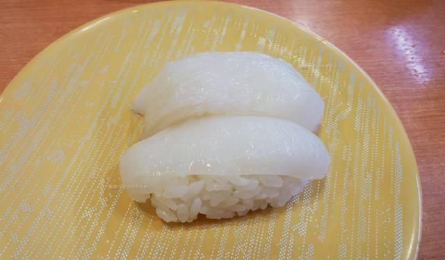 かっぱ寿司逢谷内店の真いか