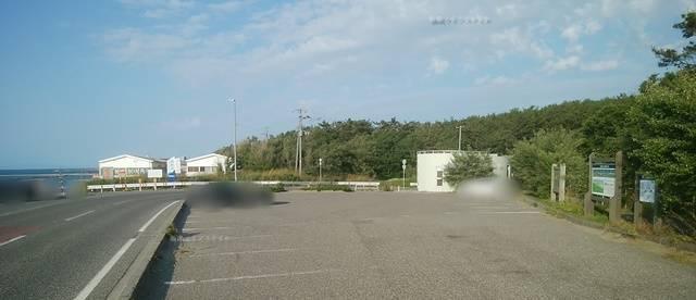 関屋浜金衛町口駐車場の全体像