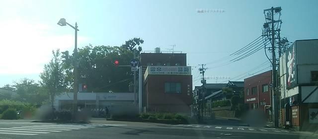 関屋本村の交差点