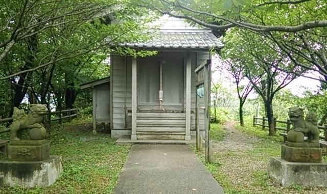 伊夜日子神社の奥の院