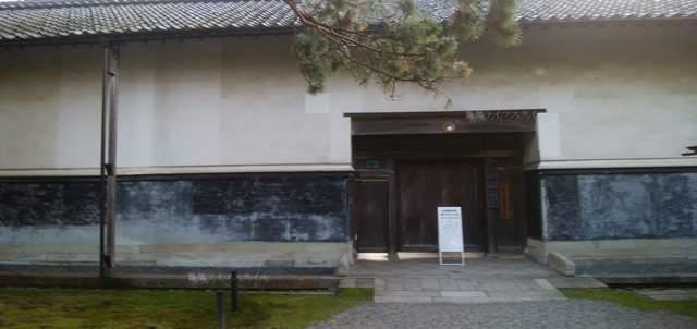 北方文化博物館の正門