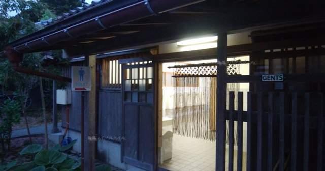 北方文化博物館の中のトイレ