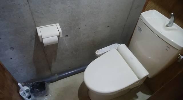 山古志油夫アルパカ牧場のトイレ